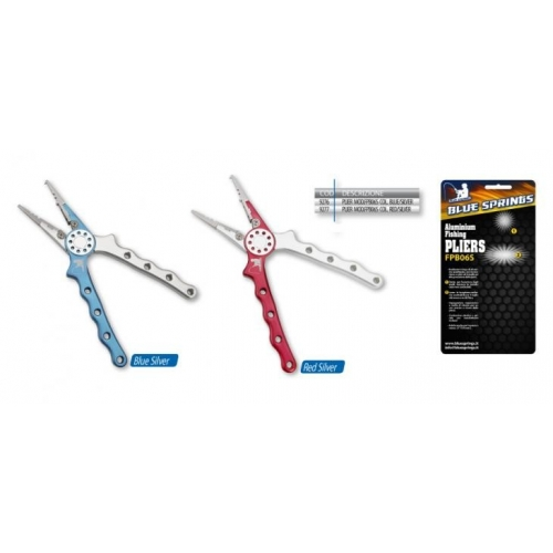 ALUMINIUM FISHING PLIERS FPB06S (red/silver)