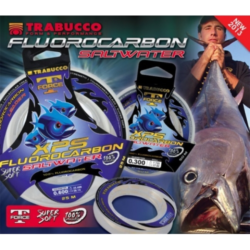 TRABUCCO XPS FLUOROCARBON SALTWATER 25 MT