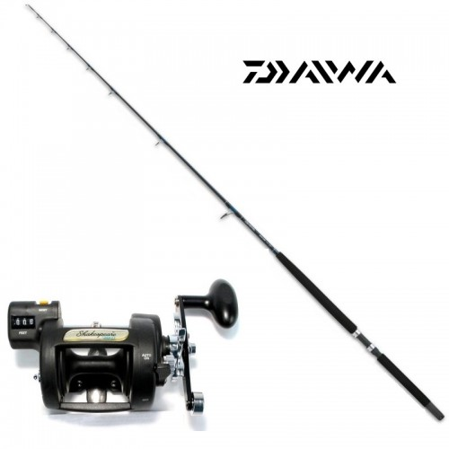 COMBO TRAINA DAIWA SEALINE + SHAKESPEARE T30LCL