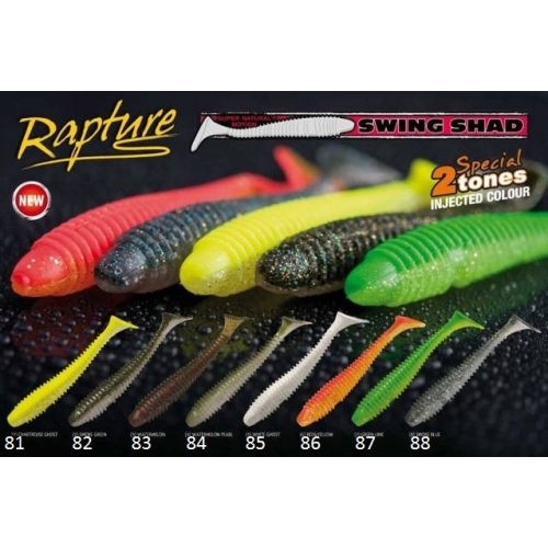 RAPTURE SWING SHAD 3.8''   9.5 cm